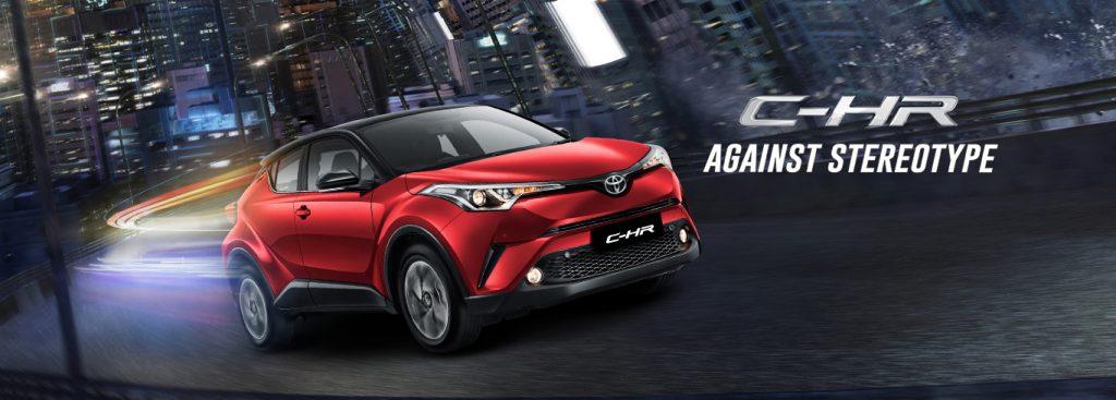 Toyota Kartika Sari Malang Spesifikasi Eksterior Interior CHR Hybrid