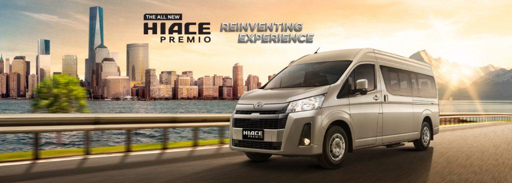 Toyota Kartika Sari Malang Spesifikasi Eksterior Interior HiAce Premio