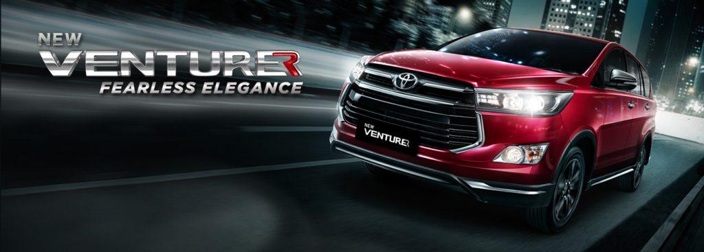 Toyota Kartika Sari Malang Spesifikasi Eksterior Interior Innova Venturer